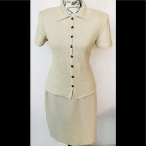 St. John skirt suit size 2